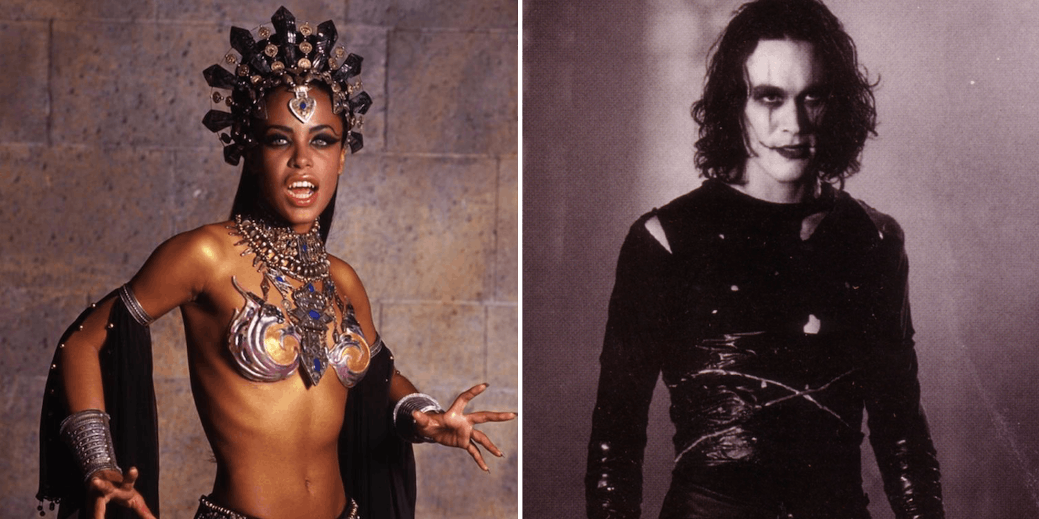 brandon-lee-the-crow-aaliyah-queen-of-the-damned